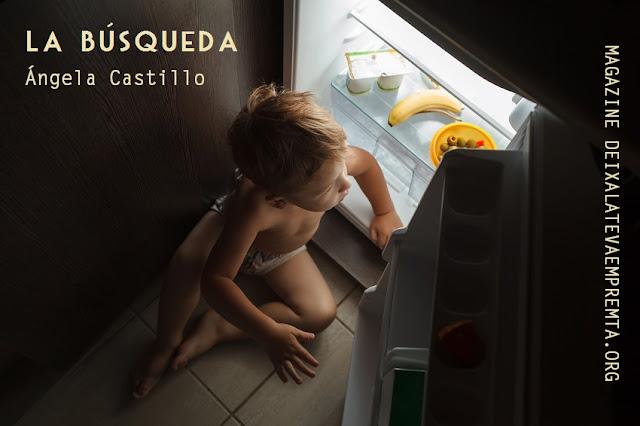 La Búsqueda por Ángela Castillo, escritora. Autora entre otros de:  Semillas de un Sueño, Girasoles al Amanecer, Los Ojos de la Noche  www.angelacastillo.com