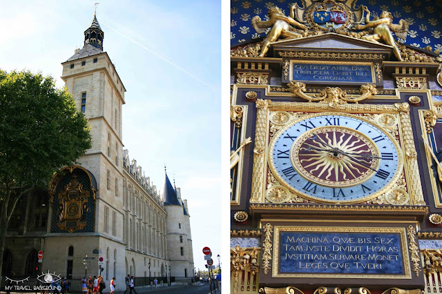 My Travel Background : #ParisPromenade : l'île de la Cité, l'horloge Royale