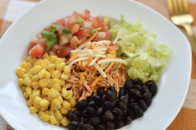 easy make ahead lunch recipe burrito bowl