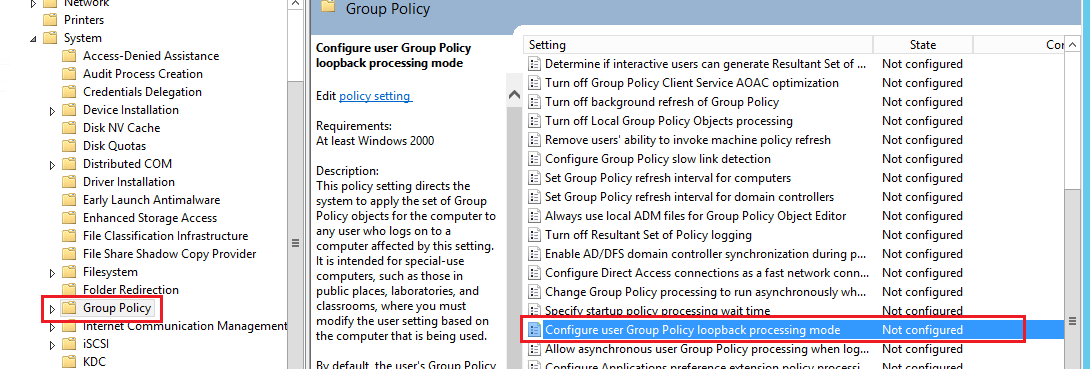 Techies Sphere: What is Group Policy Loopback Processing in Active
