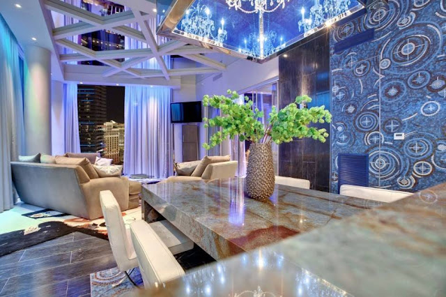 Amazing Blues Wallpaper Designs For Living Room 2015 - 2016 Trends