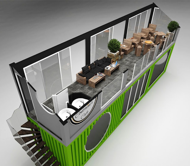 Cafe Container Design