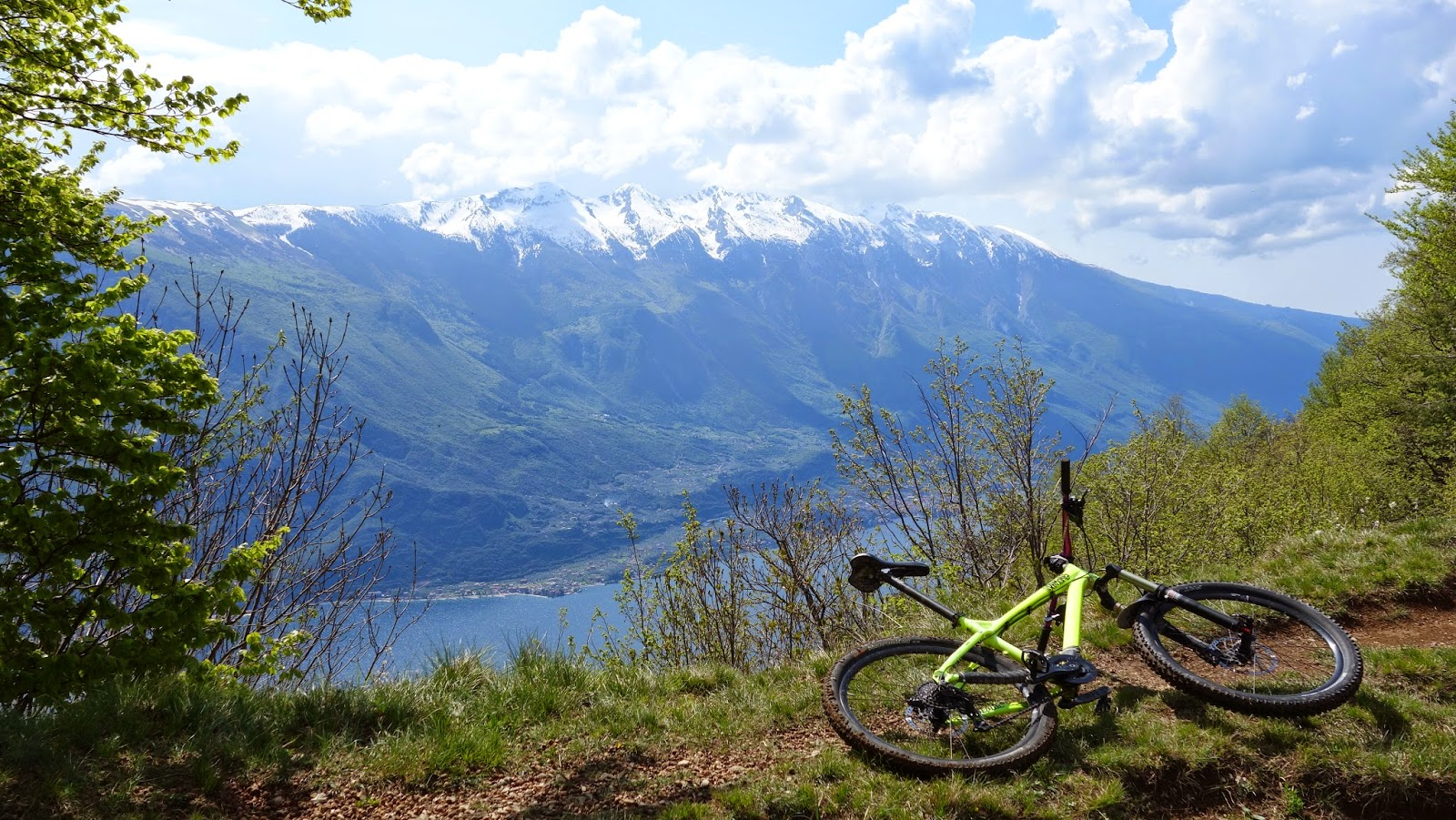 Mountainbike Tour Prati di Guil Gardasee