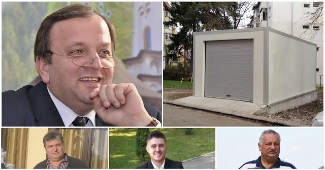 Garaj construit pe spațiul verde, în centrul Sucevei, pentru Gheorghe Flutur. Încrengătură de documente și interese pentru a-i face pe plac șefului PNL Suceava