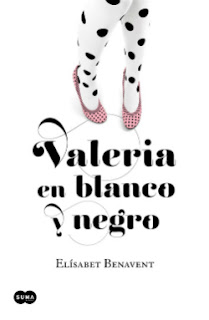 Portada del libro Valeria en blanco y negro de Elísabet Benavent