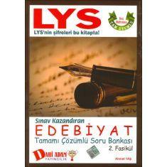 Dahi Adam LYS Sınav Kazandıran Edebiyat Soru Bankası 2.Fasikül
