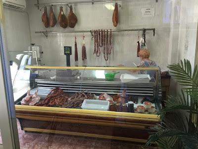 Carnicería del restaurante Venta de Gaeta