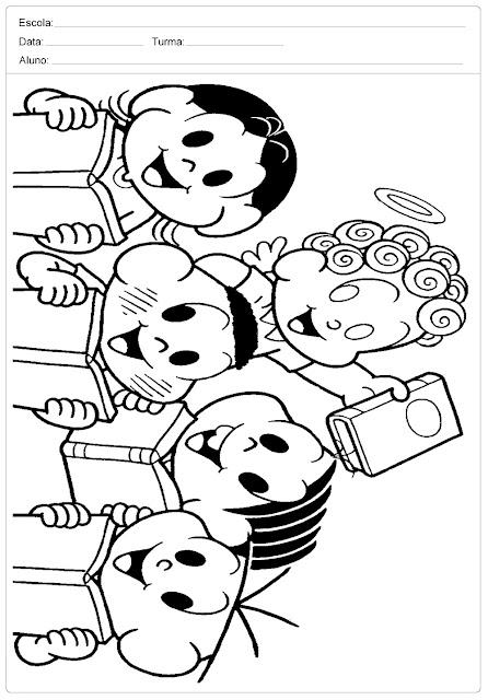 Confira alguns desenhos para colorir do dia do livro