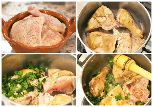 Pollo entomatado receta sencilla