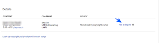 mengatasi claim copyright video youtube.