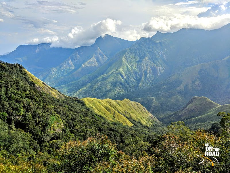 Gorogeous Western Ghats near Pampadum Shola National Park