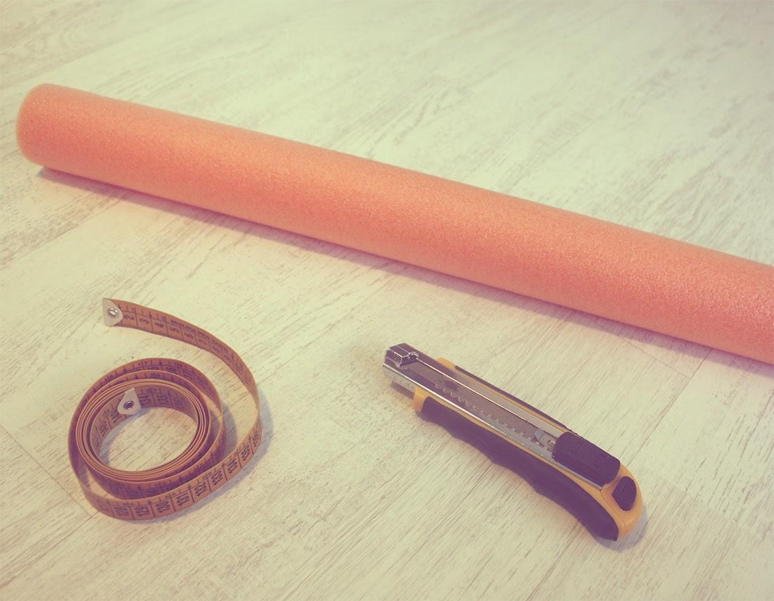 Materiales DIY Espaguetis para botas punto de lu