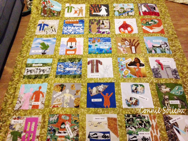 Connie Soileau's Bible Awareness Quilt