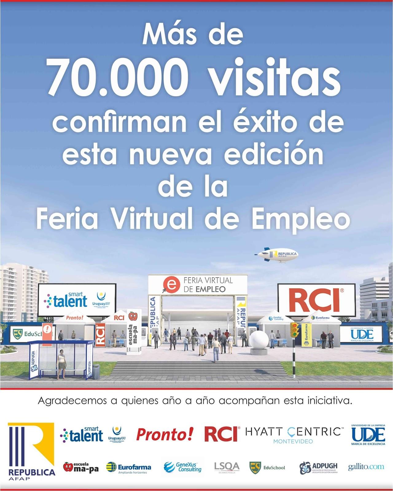 Gracias a todas las empresas que hicieron posible esta for Ina virtual de empleo