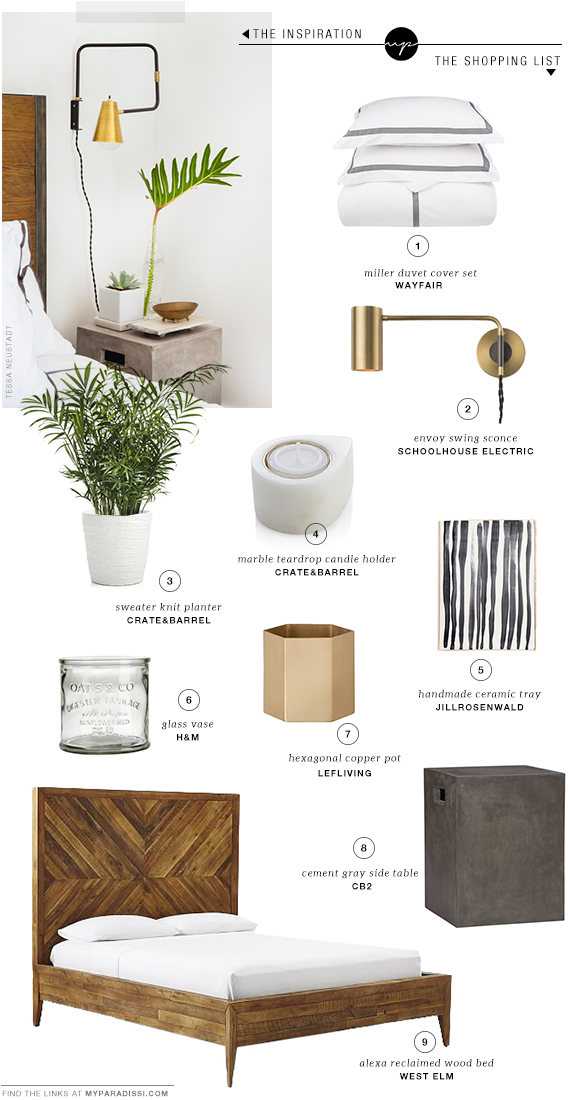 Fresh styled nightstands | My Paradissi