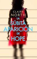 """""""La súbita aparición de Hope"""" de Claire Northon"""