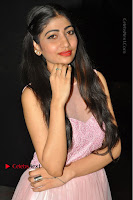 Actress Nidhisha Reddy Pos in Beautiful Pink Dress at Virus Telugu Movie Audio Launch .COM 0025.JPG