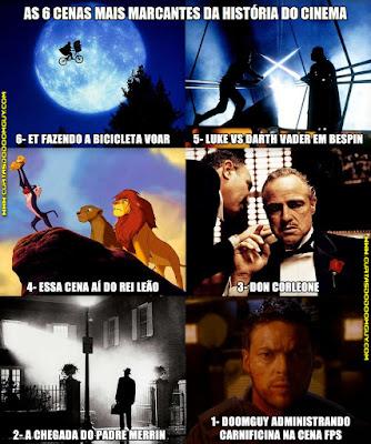 As seis cenas mais marcantes da história do cinema