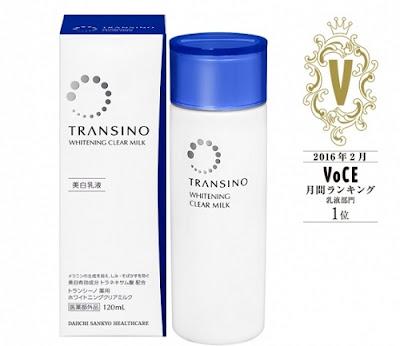 Sữa dưỡng da Transino Whitening Clear Milk