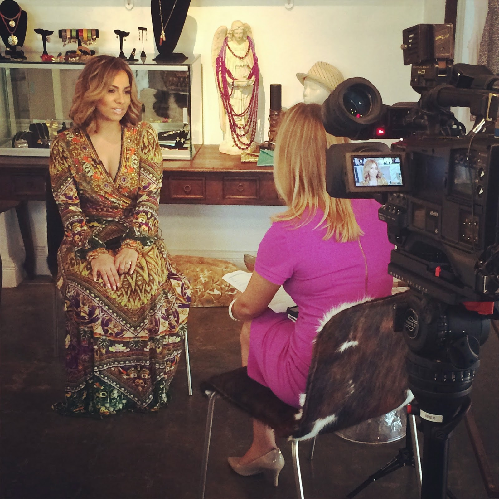 ABC 13 Houston highlights Yvonne Guidry of SpoiledLatina.com for #HHM