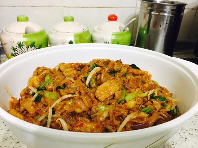 resepi kue teow goreng yang ringkas dan sedap