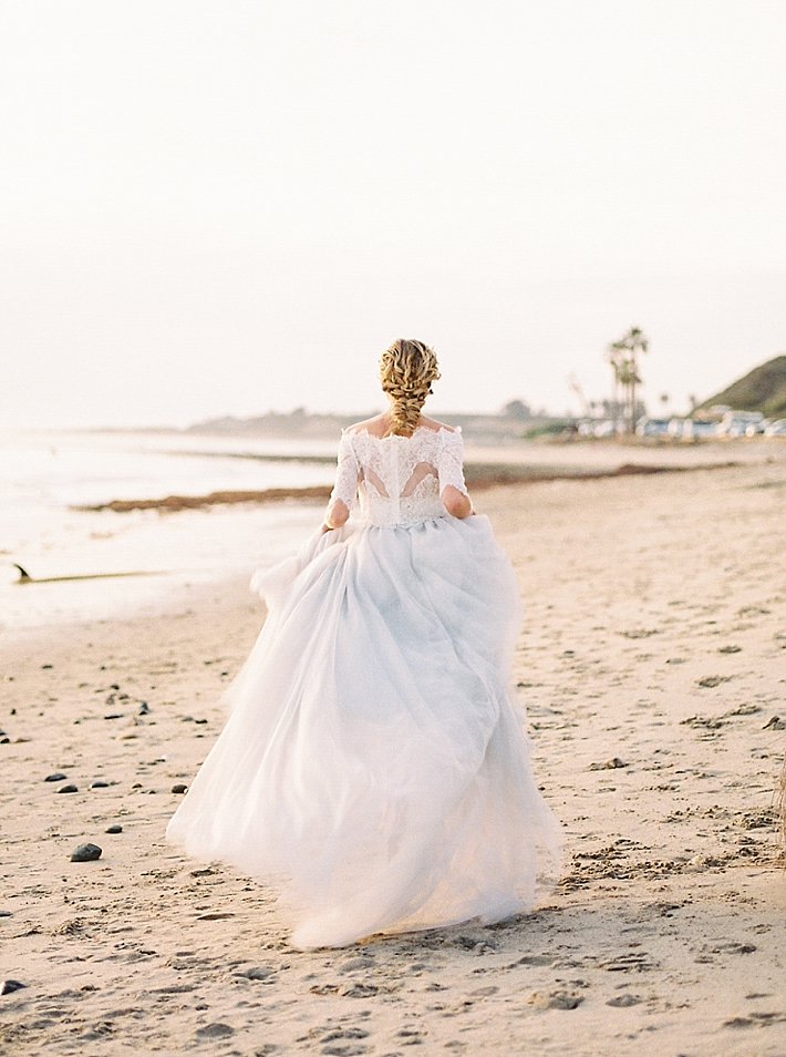 San Onofre Elopement Editorial Southern California Wedding