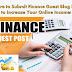 Top 200 Finance Guest Posting Sites: Where to Submit Finance Guest Blog Posts to Increase Your Online Income!