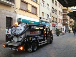 Desatascos con camión cisterna en Martorell