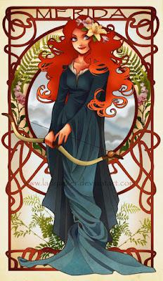 Merida, de Hannah Alexander