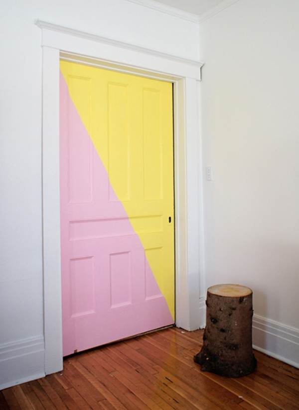 Colored Interior Doors 1