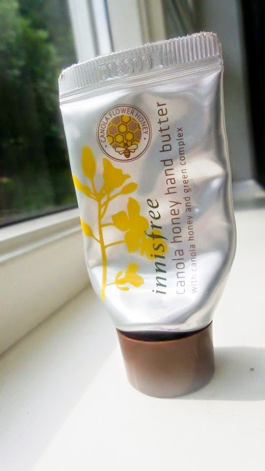 [Review] Innisfree Canola Honey Hand Butter