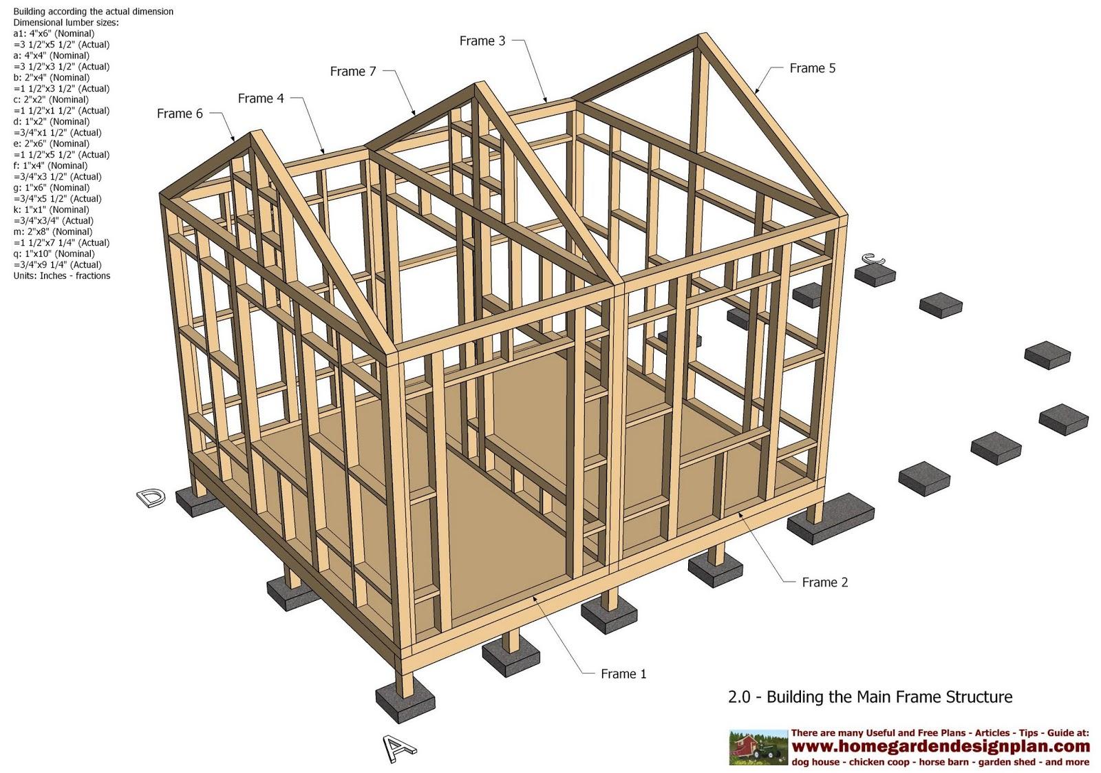 4x8 storage sheds plans for Garden shed 4 u