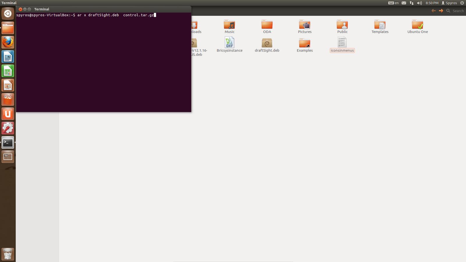 Linux Aided Design: DraftSight and Ubuntu 12 04 LTS 64bit