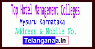 Top Hotel Management Colleges in Mysuru Karnataka