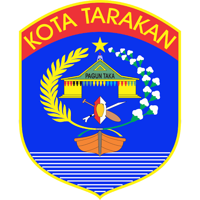Logo Kota Tarakan Vektor CDR CorelDraw