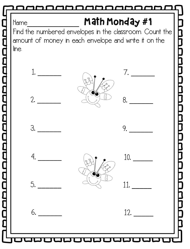 Schoolroom Swag: Higher Level Thinking with Morning Work for