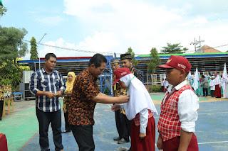 Bupati Thoriq Membuka  Pentas Pai Tingkat SD se Lumajang