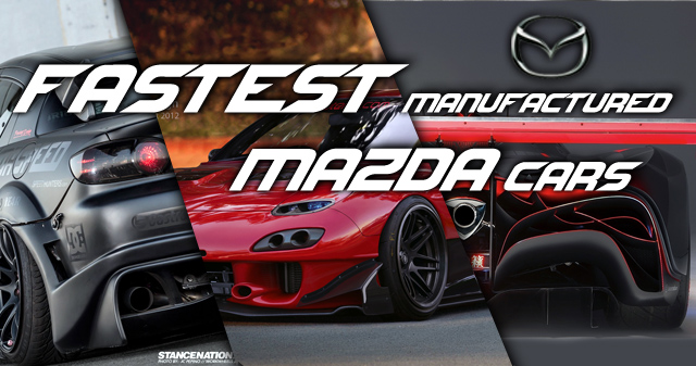8 fastest mazda cars ever made 8 team imports. Black Bedroom Furniture Sets. Home Design Ideas