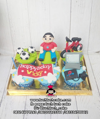 Cupcake Ulang Tahun Anak Kecil