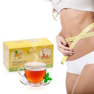 Ceaiul de ananas Dr.Ming ajuta la slabit si imbunatateste digestia.