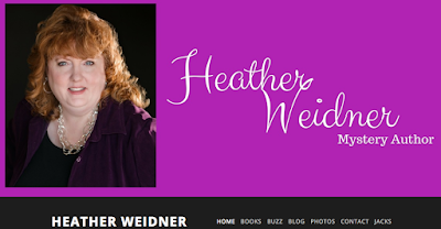 mystery author heather weidner