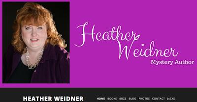 mystery author heather weidner