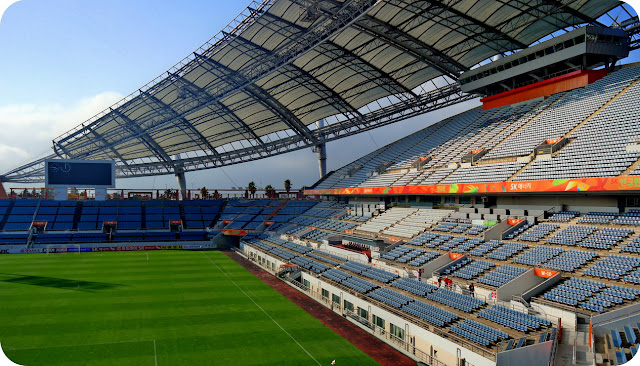 Jeju World Cup Stadium Seogwipo Korea