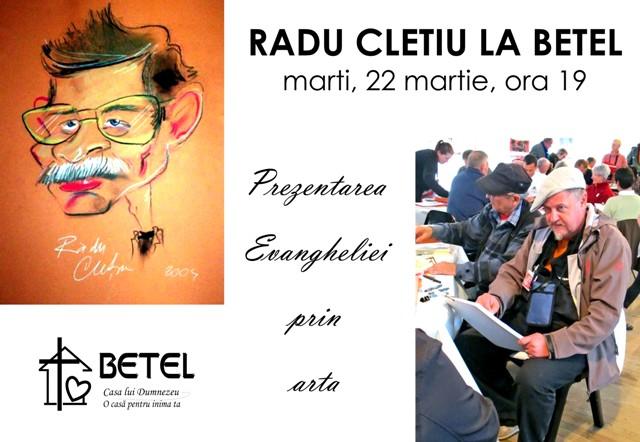 Seara de tineret cu Radu Cletiu la Betel Timisoara - 22 martie 2016