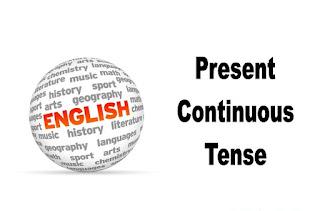 Present Continuous Tense, Present progressive tense