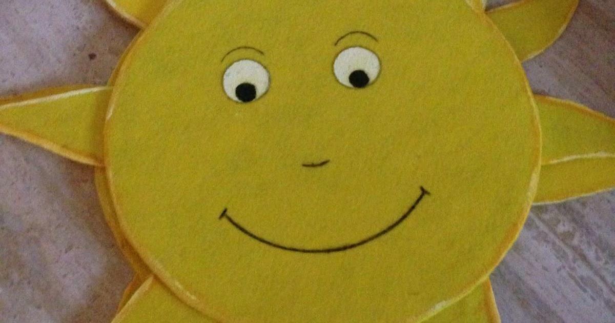 Goma Eva Como Hacer Un Sol Wwwimagenesmicom