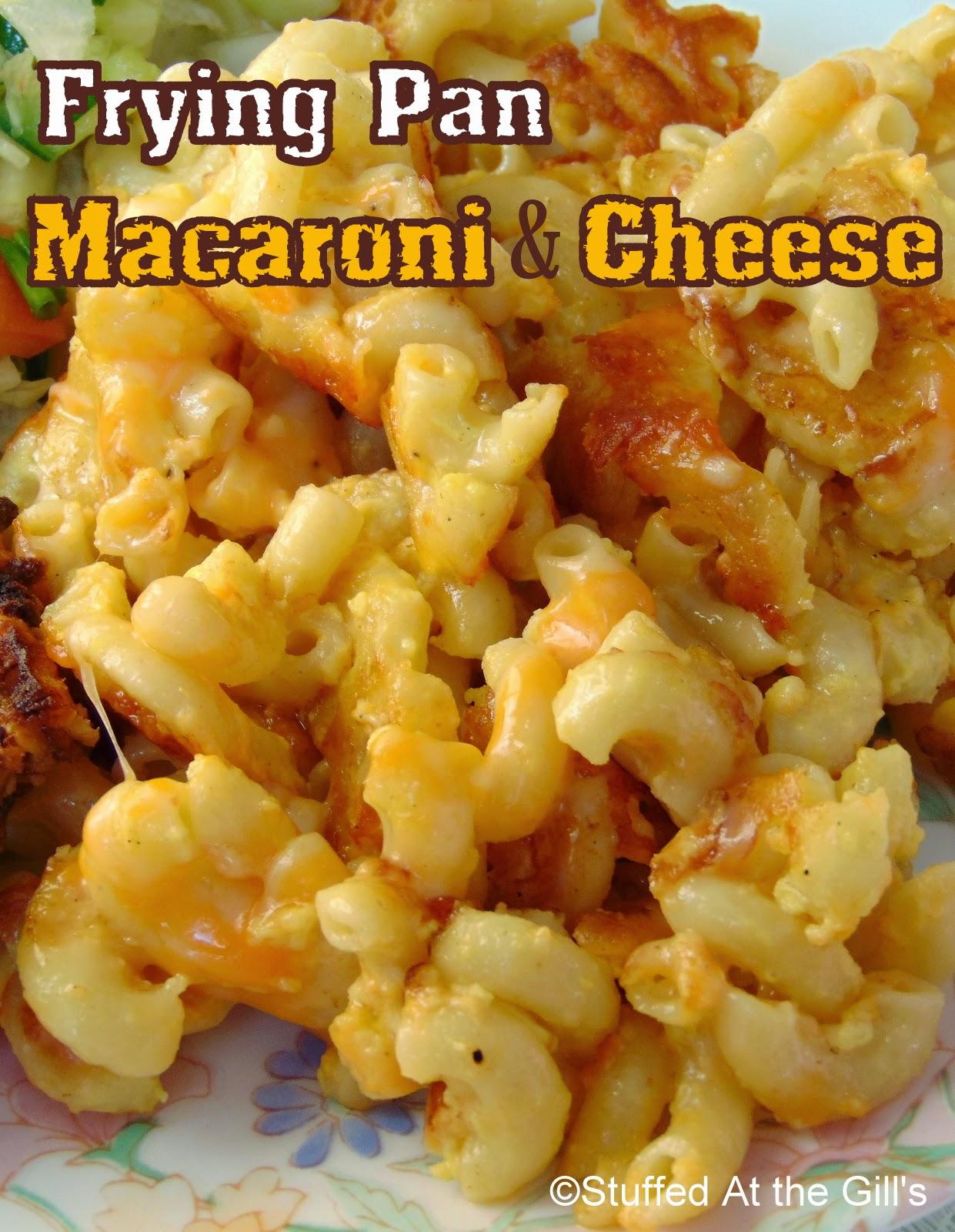 Frying Pan Macaroni and Cheese