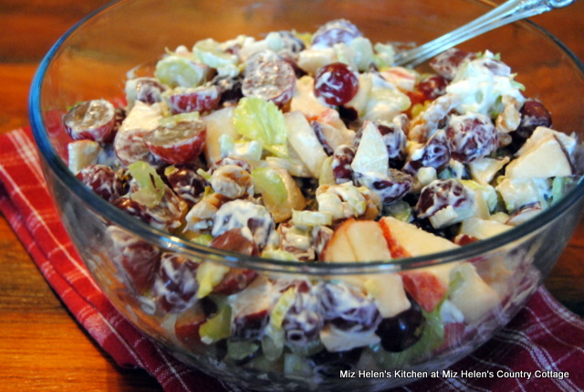 Classic Waldorf Salad at Miz Helen's Country Cottage