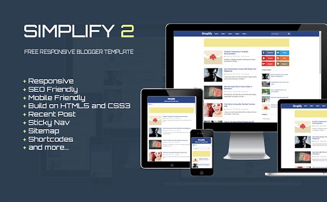 Simplifi 2 Responsive Blogger Template