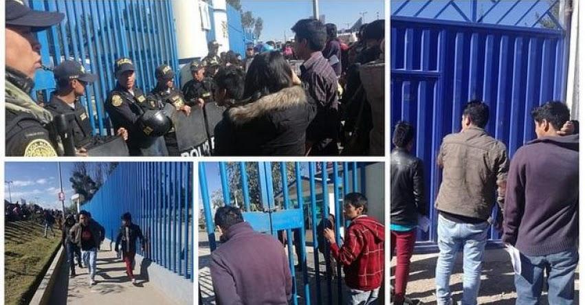 UNCP: Más de 10 postulantes se quedan sin rendir examen de admisión a la Universidad Nacional del Centro del Perú [VIDEO] www.uncp.edu.pe